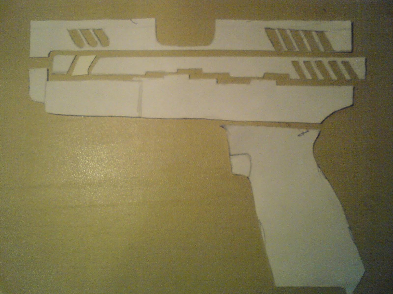 Pistola Blacktail - Resident Evil DSC04424