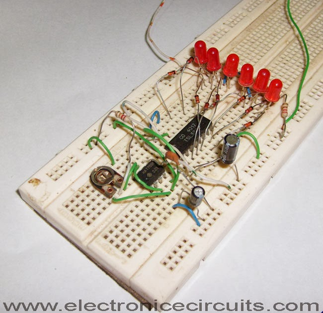 Electronic Circuits News Feeds 4017 Led Knight Rider Circuit Diagram