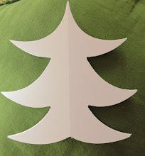Albero di Natale bianco 2