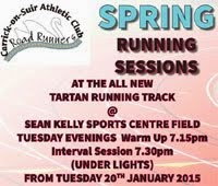 Training in Carrick-on-Suir...Every Tues...Feb 2015
