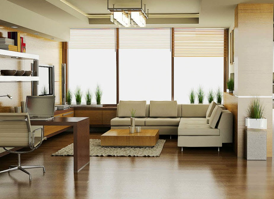 Se tu misma ganar espacio extra en casa - Integrar escritorio en salon ...