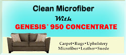How To Clean Microfiber With Genesis 950