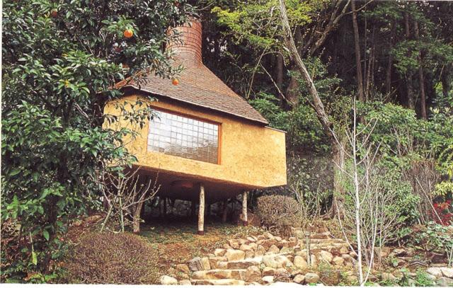 pavillon de thé de Hosokawa Morihiro