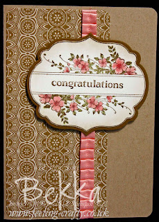 Apothecary Art Congratulations Card for joining Stampin' Up!