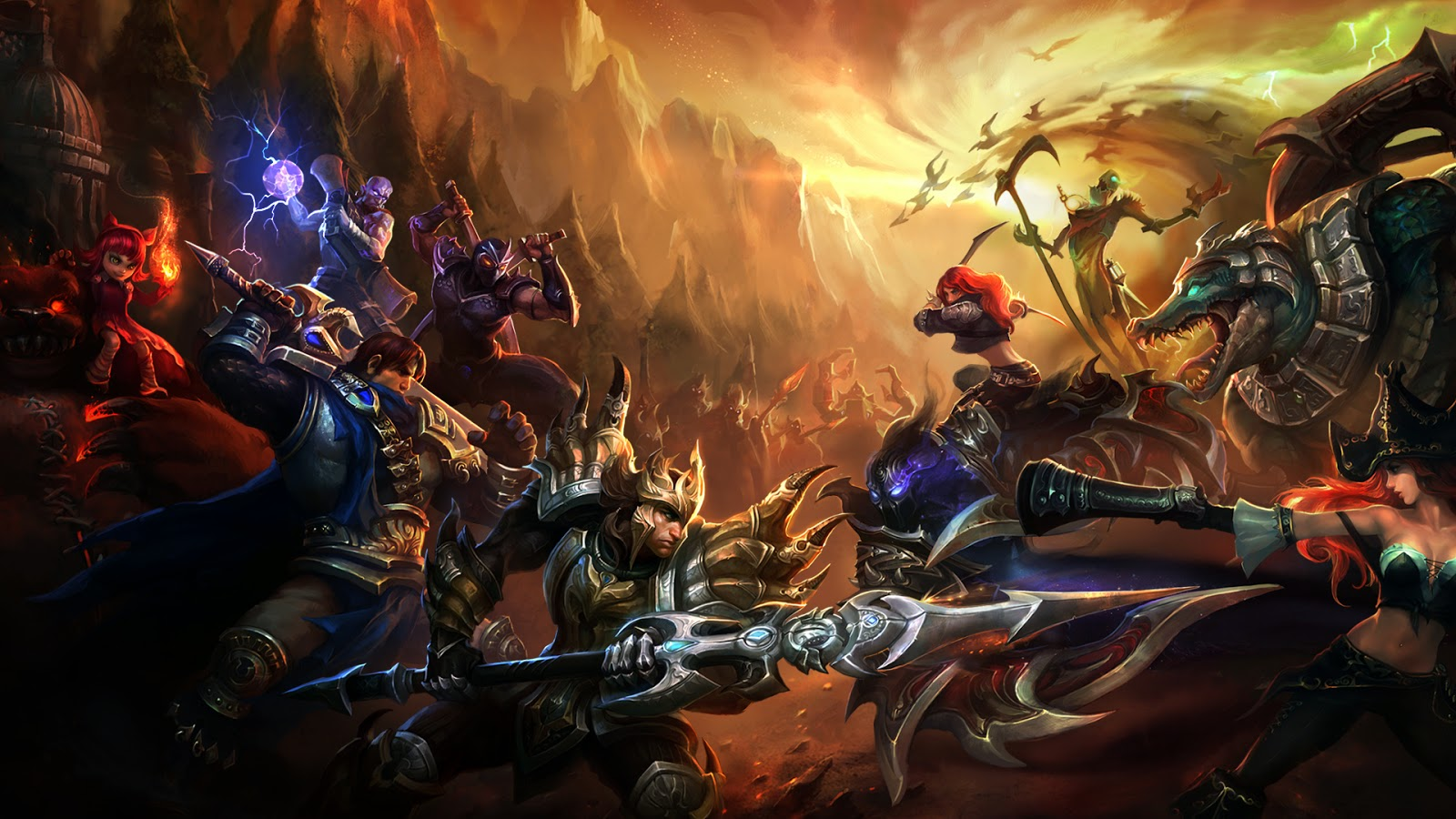 League of Legends Champion Clash b4