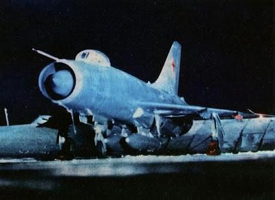 Перехватчик Су-9 строевого авиаполка ПВО