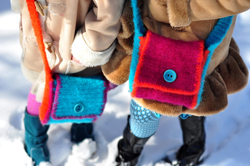 Tutorial: Girls Felted Satchel