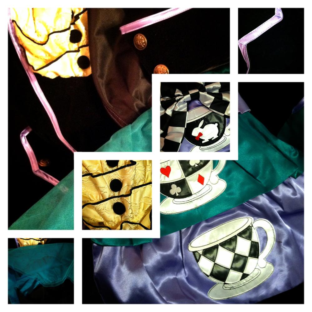 mad hatter costume women, cosplay wonderland
