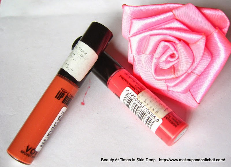 VOV Lipgloss 0001 and 0005 Photo