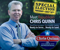 Penncrest Alumni Chris Quinn for State Rep!
