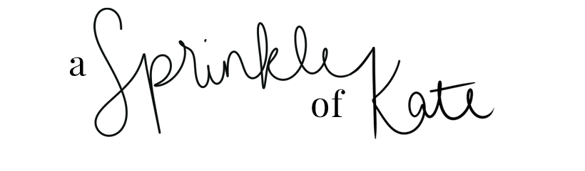 A Sprinkle of Kate
