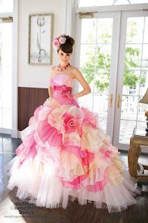 kawaii wedding gown