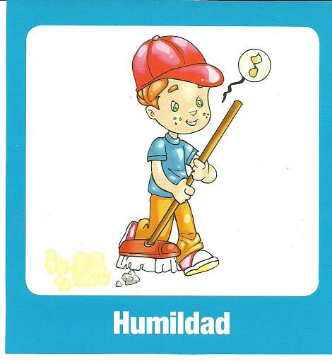 humildad en dibujo para imprimir dibujos de los valores para
