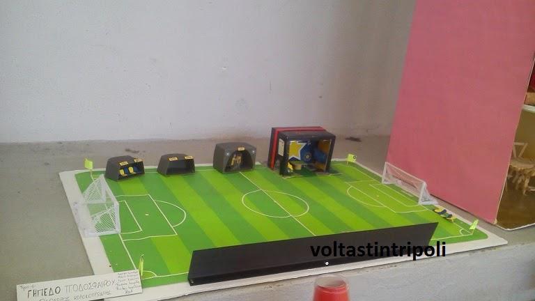 Το γήπεδο του Αστέρα απο τους μαθητές του 1ου Γυμνασίου Τρίπολης!