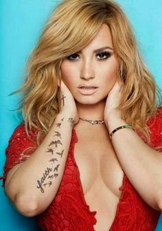 Demi Lovato Tattoo Gallery