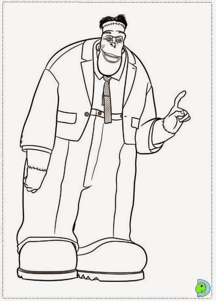 coloring pages hotel - photo#20