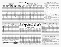 Labyrinth Lord Referee Screen