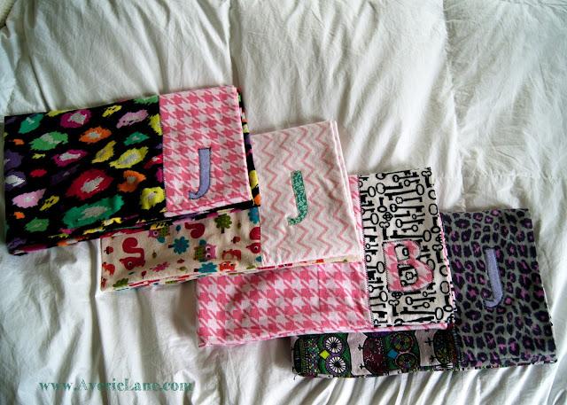 Custom pillowcase with Initial