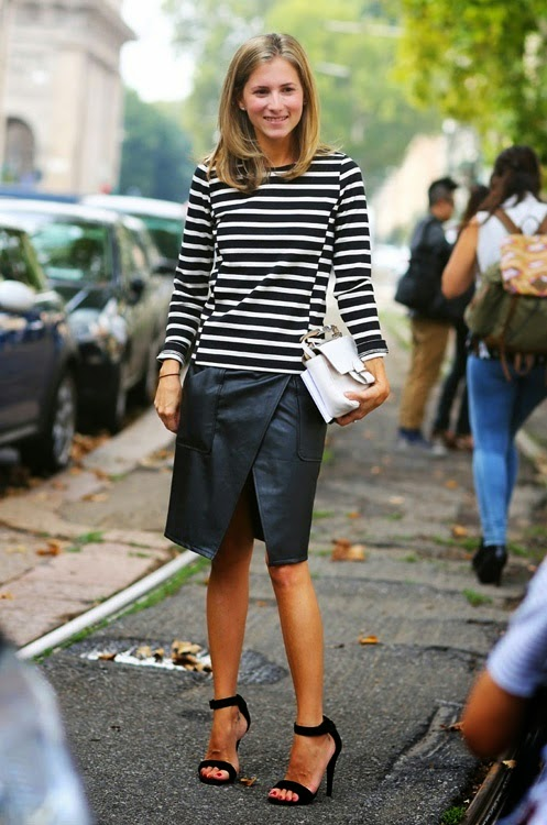 Striped shirt style