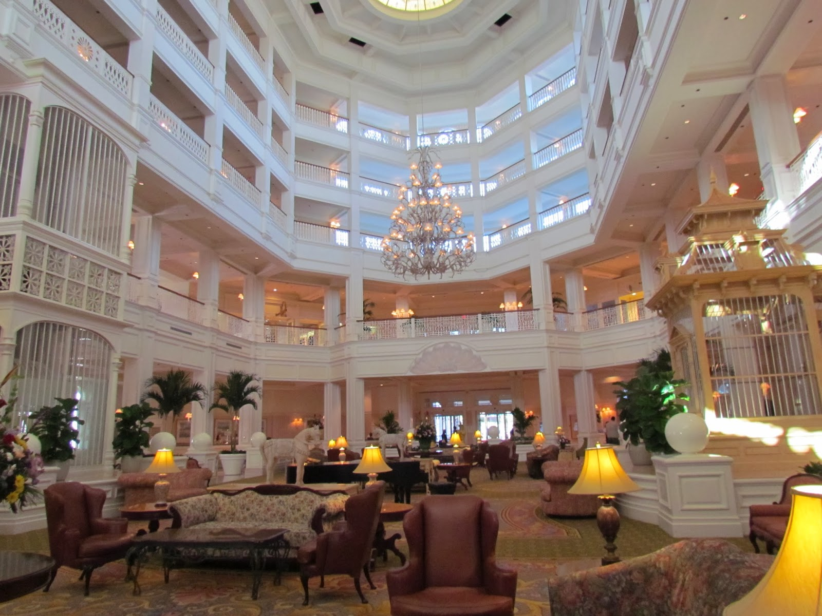 Grand Floridian Hotel Tea Room