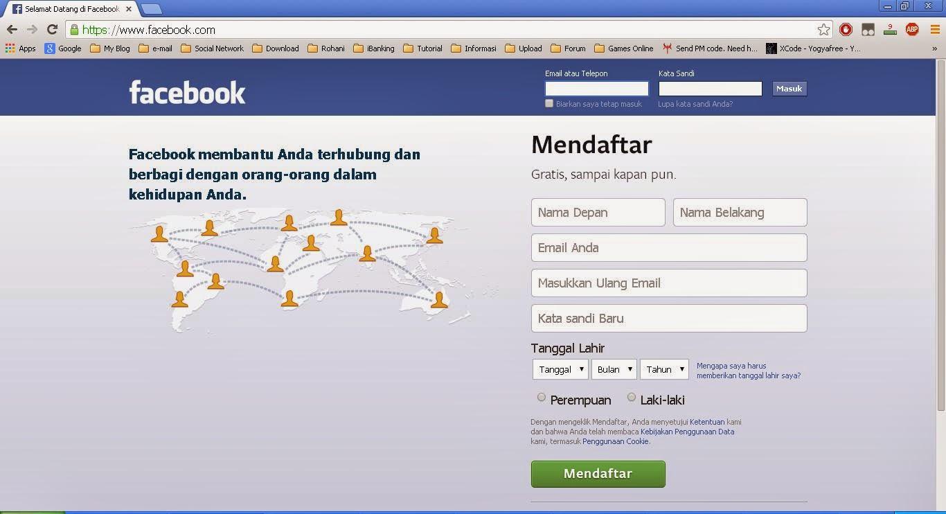 buat akun facebook baru