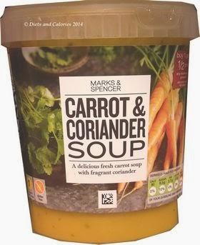 Marks & Spencer Carrot & Coriander Soup