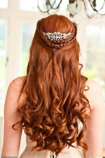 Top wedding hair updos for long hair