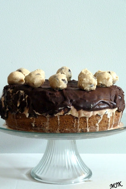 Melissa's Cuisine: Cookie Dough Ice Cream Cake