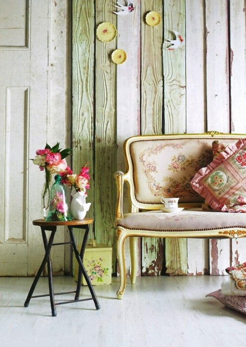 Antique And Modern Furniture Together take five: fun with vintage decor - the cottage market