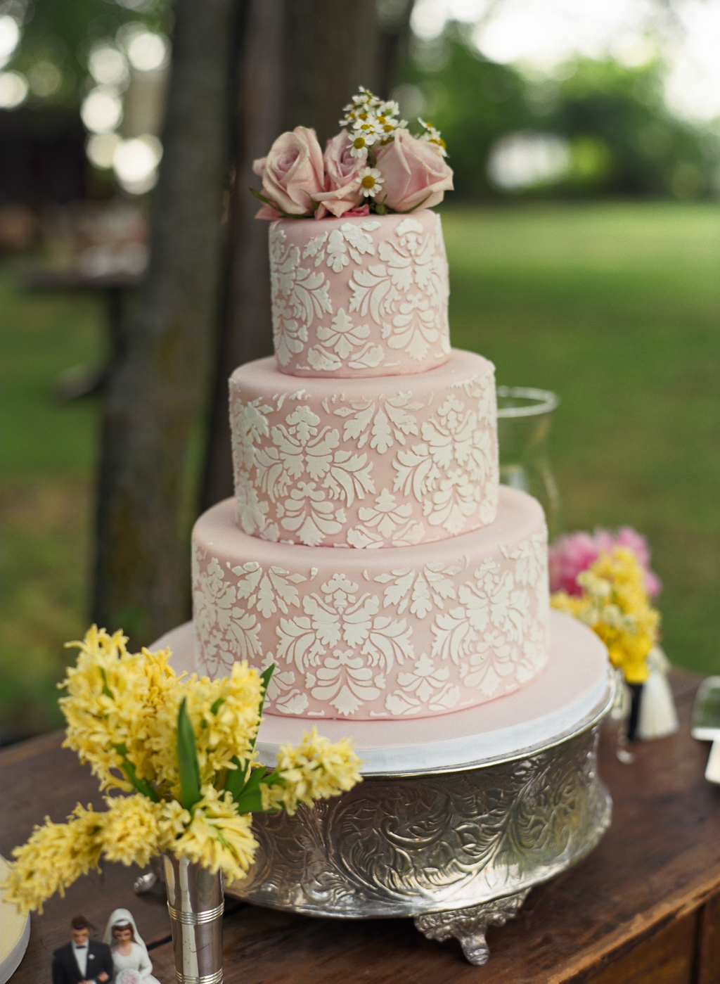 Cake Design Ideas For Wedding : Beautiful Vintage Wedding Cakes Design - Wedding Cakes