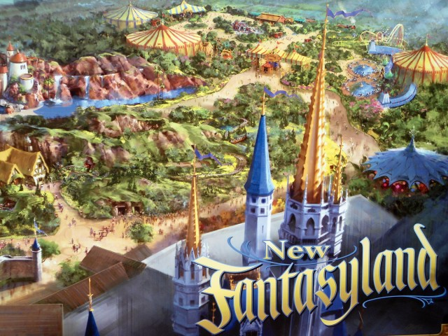 New Fantasyland Magic Kingdom