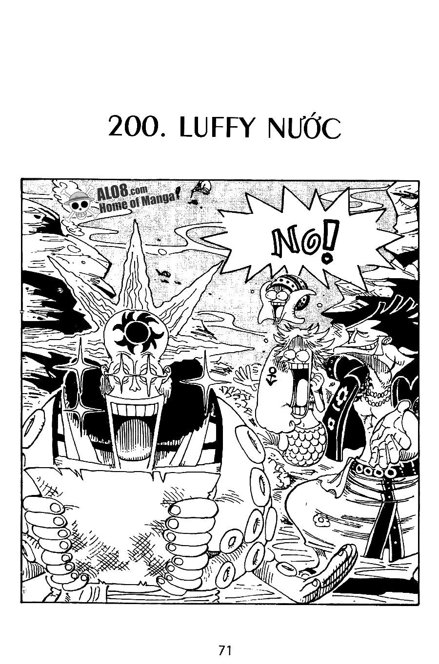Đảo Hải Tặc chap 200 - Trang 1