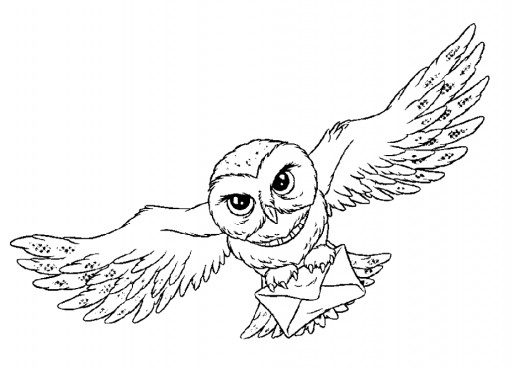 Fun Coloring Pages Harry Potter