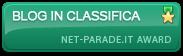 Riconoscimenti Award da Net-Parade.it. Clicca sui Banner e vedi gli Award.