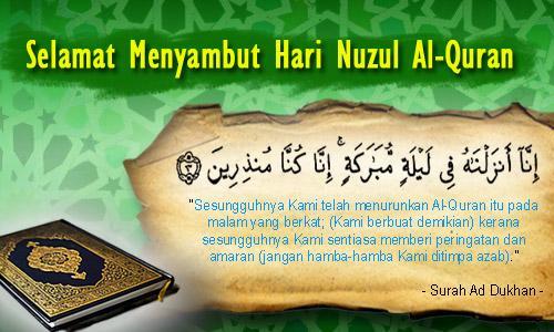 Sambutan Hari Nuzul Al-Quran