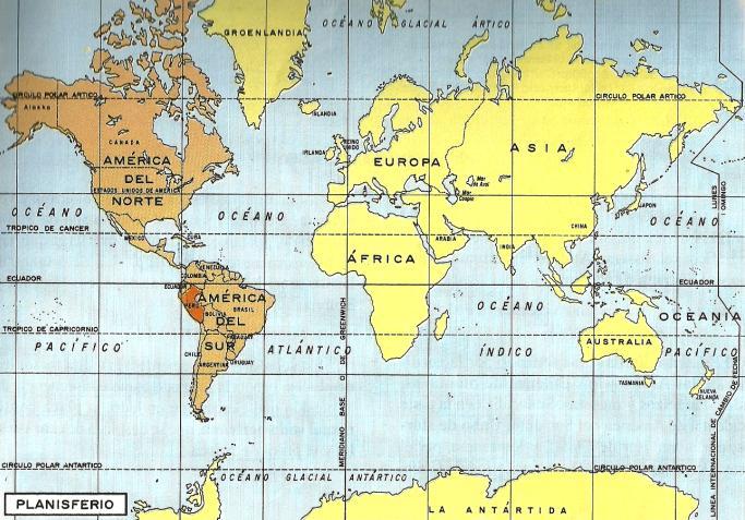 Mapa Donde Se Ubica Am  Rica Del Sur
