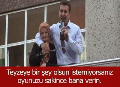 Mustafa Sarıgül Oy Teyzeye Birşey Olsun İstemiyorsanız Oyunuzu Bana Verin