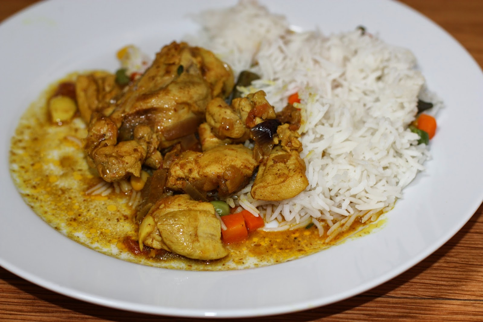 Chow and Chatter: Jamaican Curry Chicken