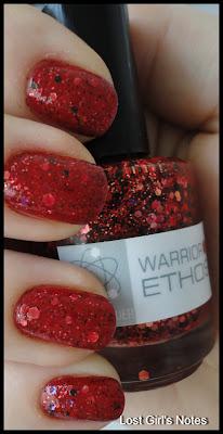 nerd lacquer warrior ethos