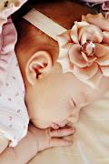 Hazel Mae asleep (picture )