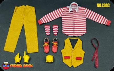 Super Duck Hamburg Uncle Joker outfit