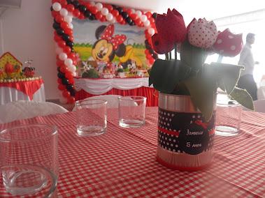 Festa da Minie (vermelha)