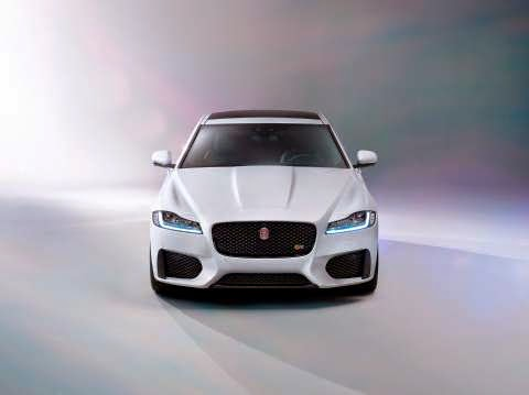 New Jaguar XF front