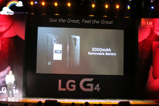 LG G4 removable battery