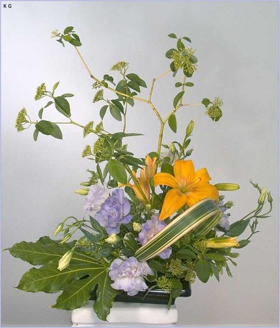 Ikebana flower arrangements photos collection