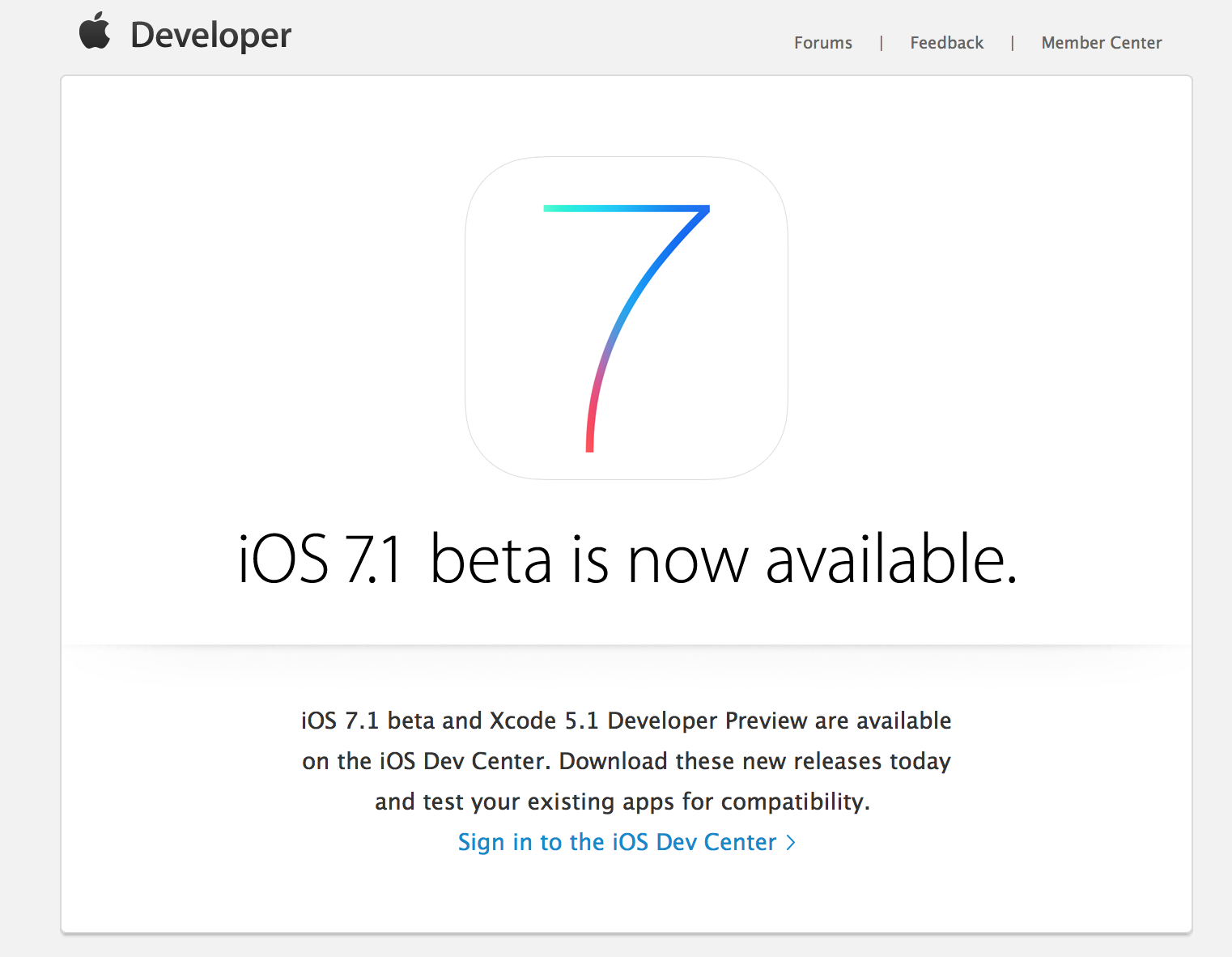 IOS 7.1 update caused countless problems for users of iOS