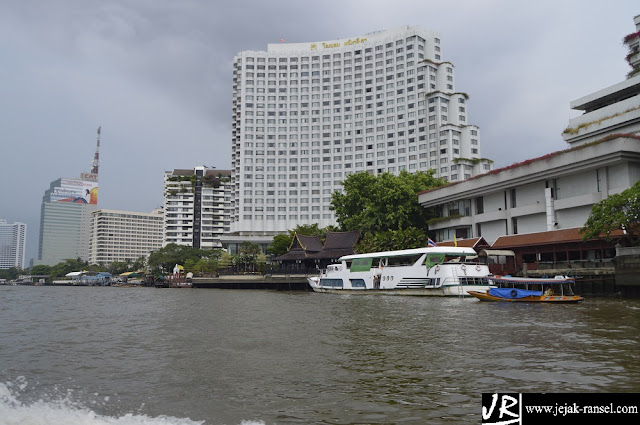 """Chao Praya River Side on Bangkok"""