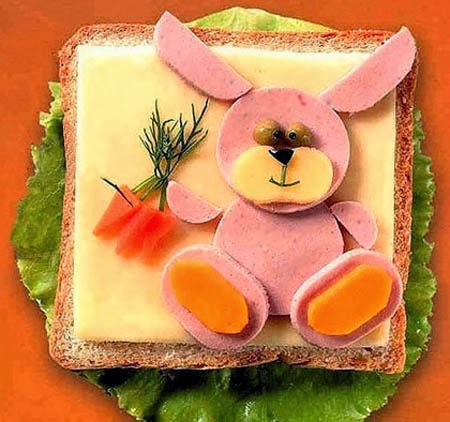Ham And Sandwich Bear