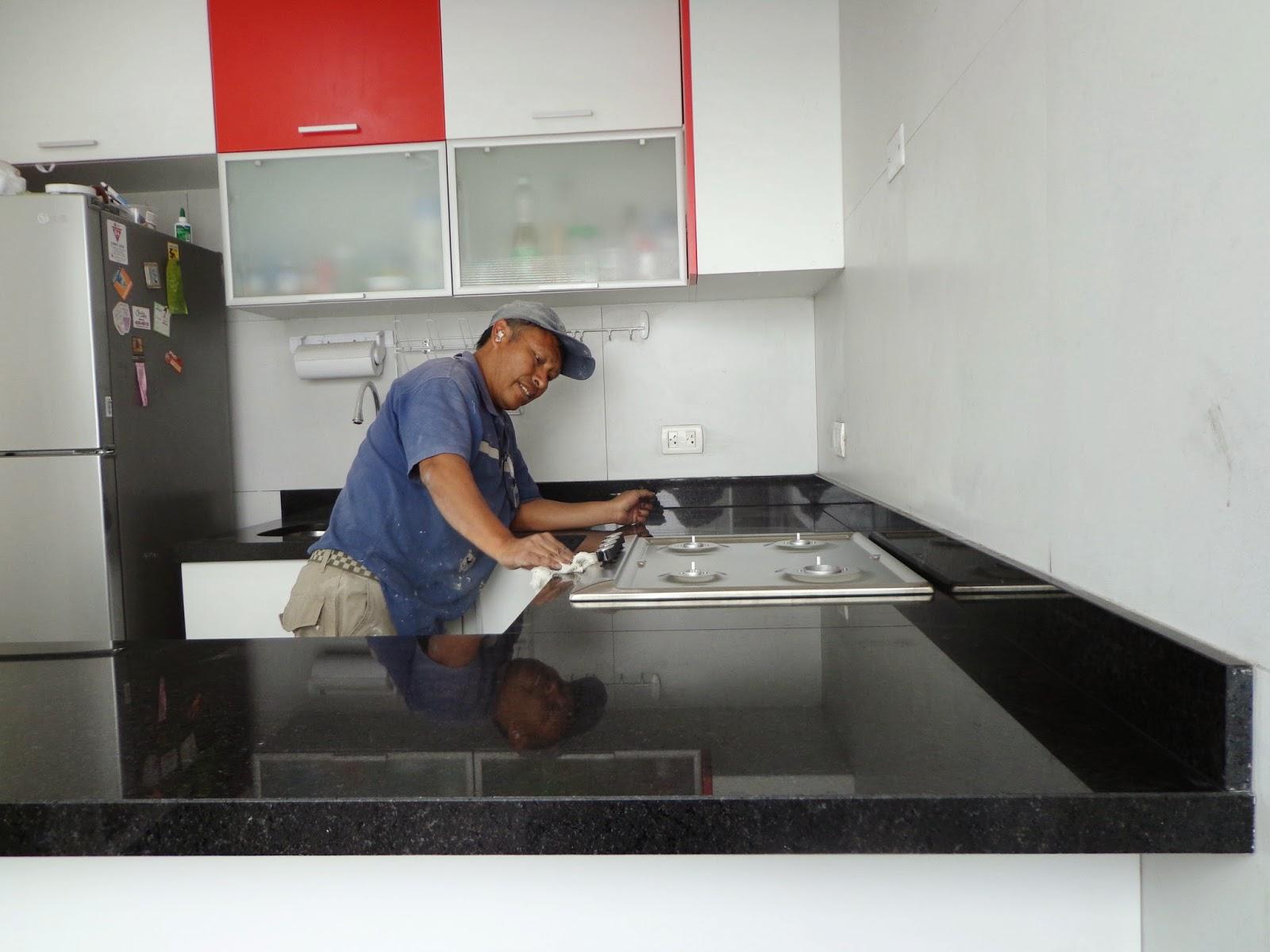 Encimeras cubiertas mesas islas cocina marmol granito lima - Cuidado del marmol ...
