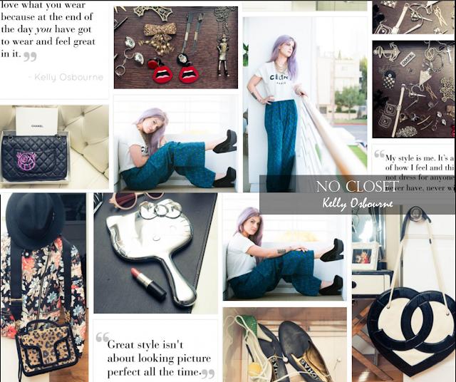 Conheça o closet da Kelly Osbourne do Fashion Police